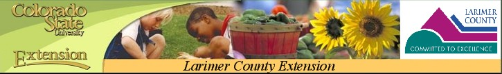 Larimer County Extension service.new 1 Gardening with Larimer Master Gardeners, June 14
