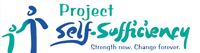 Project Self Sufficiency logo Grandpas Cafe to donate to Project Self Sufficiency