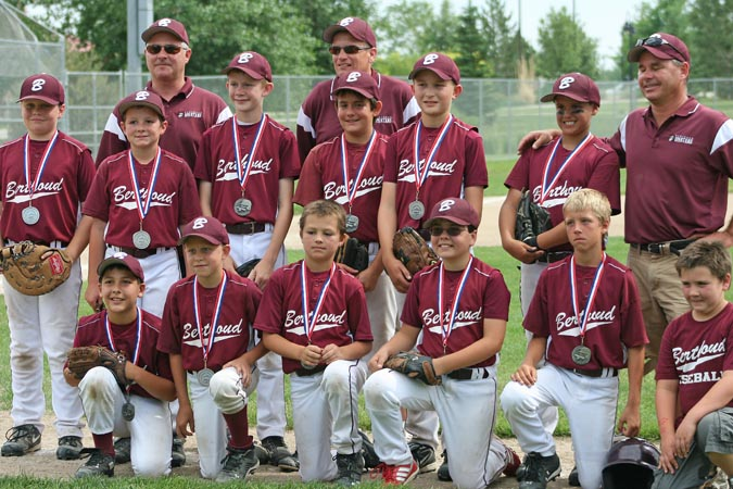 Under 11 baseball team 675p Berthoud 11 and under baseball takes silver in league tournament