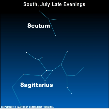 10jul05 430 Earthsky Tonight—July 5, 2010: Constellation named for a Polish king