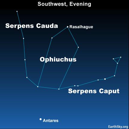 10jul26 430 Earthsky Tonight—July 26, The 'forgotten' zodiacal constellation