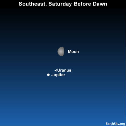 10july02 430 Earthsky Tonight—July 2: Watch for the moon near Jupiter before dawn July 3