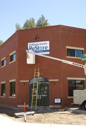 "ReStore1 Habitat ""ReStore"" getting close"