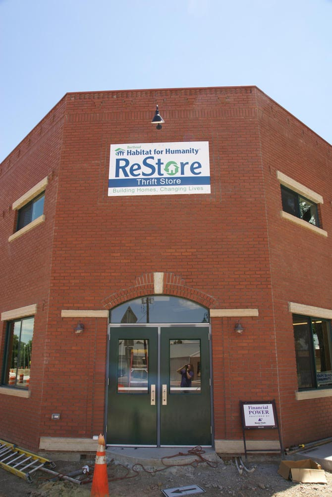 Restore 3 Habitat ReStore getting close