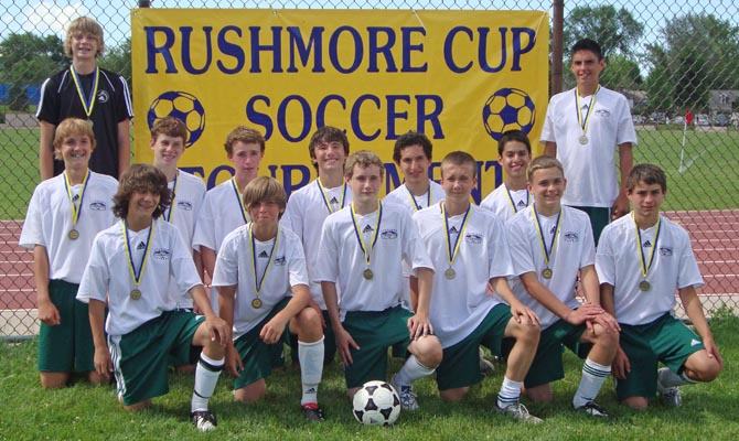 United Black Soccer 11 Local soccer team takes the Rushmore Cup""