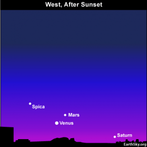 10aug23 430 300x300 EarthSky Tonight—August 23, Venus points way to fainter Mars