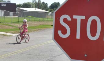 1 7223 Emily Barryman in Street ride Bike safety is fun