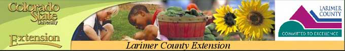 Larimer County Extension service.new 2 Tips and Answers from Master Gardeners