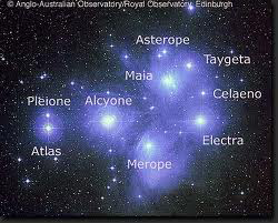 Pleidades EarthSky TonightAugust 31, Moon and Pleiades from midnight to dawn 