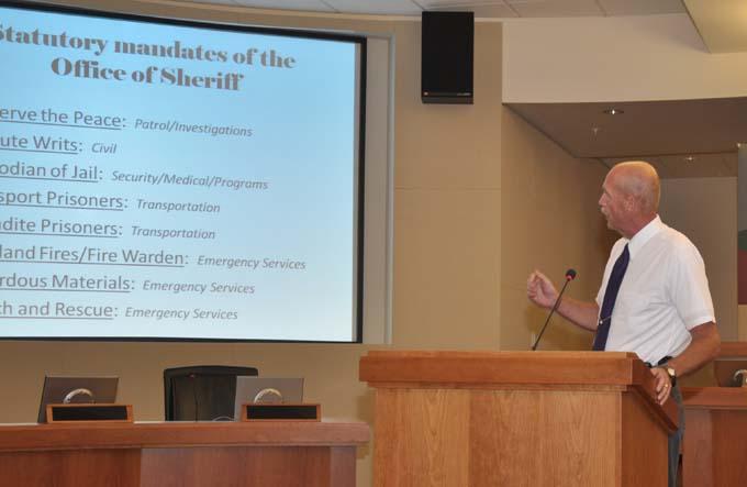 Sheriff Alderden Budget 101 with Sheriff Alderden