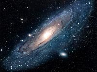 The Hole in the Andromeda Galaxy on You Tube