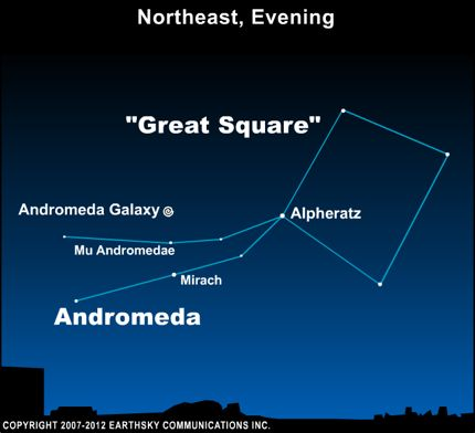 10sep29 430 EarthSky Tonight—Sept. 29, Star hop from Great Square to Andromeda galaxy