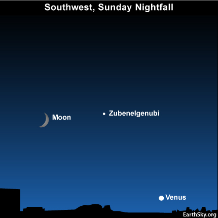 10sept12 430 EarthSky Tonight—September 12,  Moon, Venus and a double star