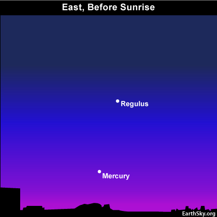 10sept18 430 EarthSky Tonight—Sept 18, Best predawn of view Mercury