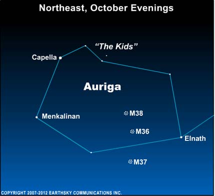 09oct22 430 EarthSky Tonight— October 8, Close up on constellation Auriga the Charioteer
