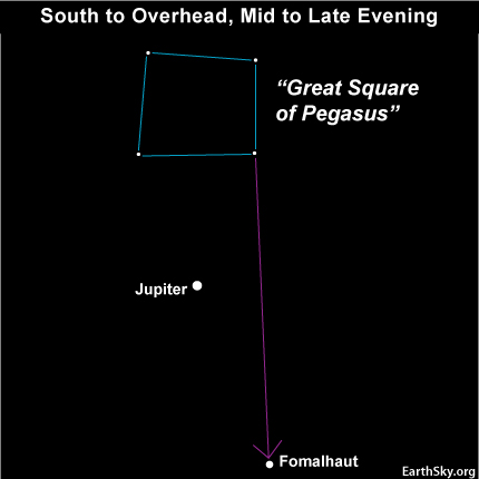 10nov01 430 EarthSky Tonight—Nov 1,  Looking out our Milky Way galaxy's south window