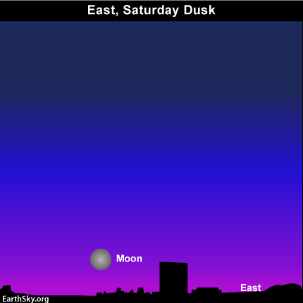 10oct23 430 EarthSky Tonight—October 23, Waning moon rises soon after sunset