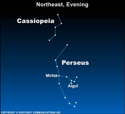 10oct30 430 EarthSky Tonight—Oct. 30, As Halloween approaches, find the Ghoul Star of Perseus