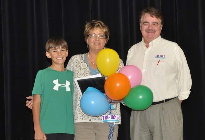 8830 Blake Denise Michael c Denise Schump chosen for Teacher Tuesday honor