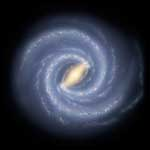 Milky Way Galaxy artwork EarthSky Tonight—Oct. 4,  Use Summer Triangle to find plane of Milky Way galaxy