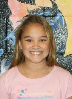 Sierra Gosch Turner Middle School: September Students of the Month