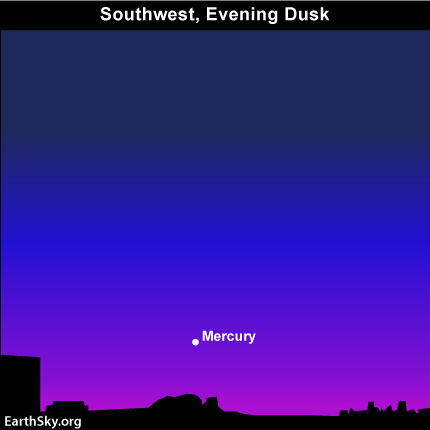 10nov29 430 EarthSky Tonight—Nov 29, catch Mercury after sunset