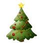 ChristmasTreesmall1 CIB at the Library