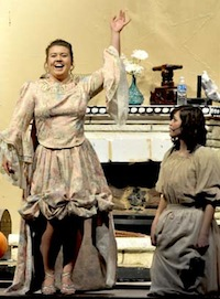 Fairy God Mother Cinderella comes to Berthoud