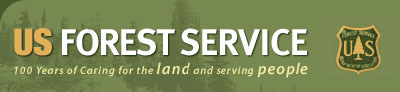 Forest Service Logo Cut your own Christmas tree