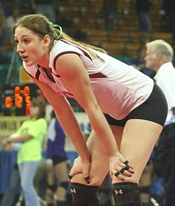 Kelley Arnoldberthoudvb Kelley Arnold named to All Big Sky Volleyball squad