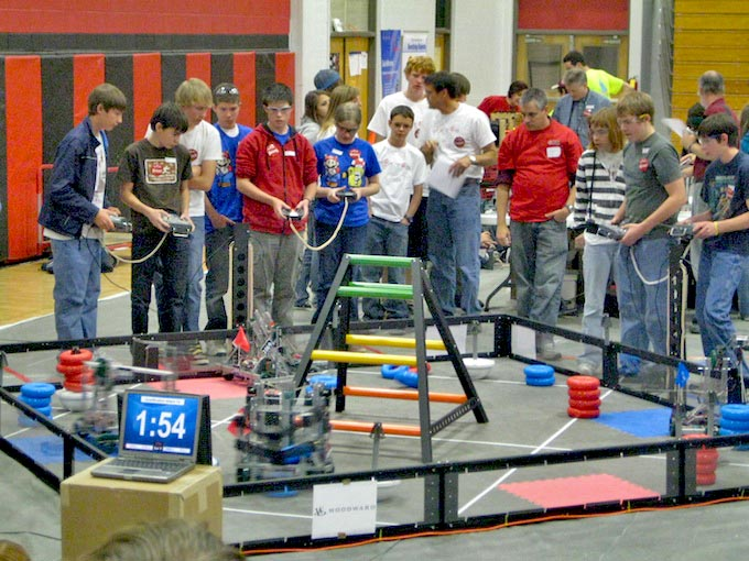 Vex tournament 007 Berthoud High robots take top honors
