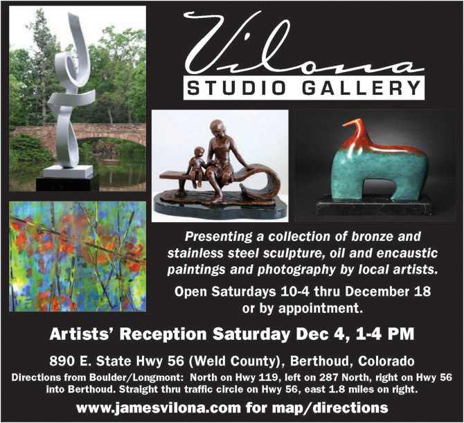 Vilona Studio Gallery AD670 Vilona Studio Gallery Events in December
