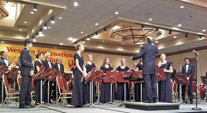 allan macmurray670 Loveland High School Wind Symphony in Seattle