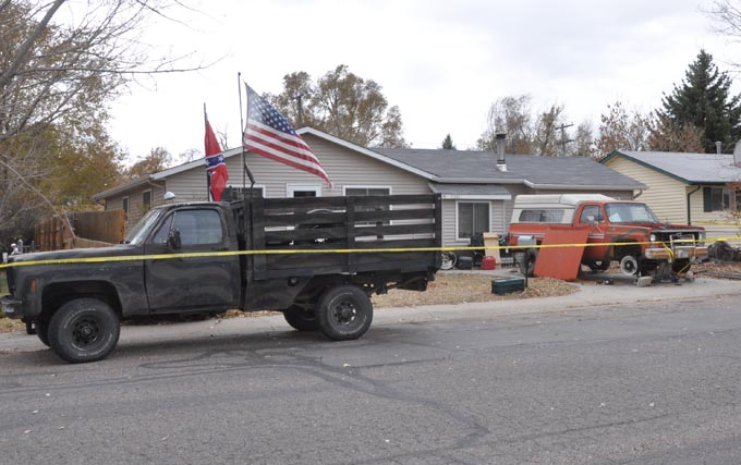 shootin scene Berthoud man shot and killed by SWAT unit