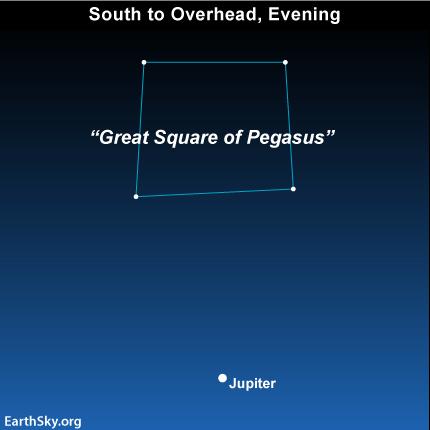 10dec02 430 EarthSky Tonight— December 2, See the moons of Jupiter on December evenings