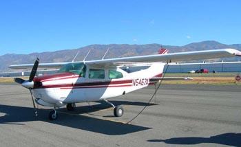 Cessna210 001 Small plane crashes near Carter Lake