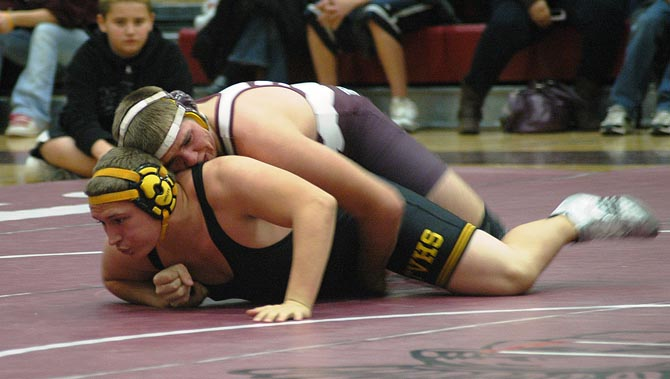 JT Pickert 11 Berthoud Wrestling Falls in Season Opener