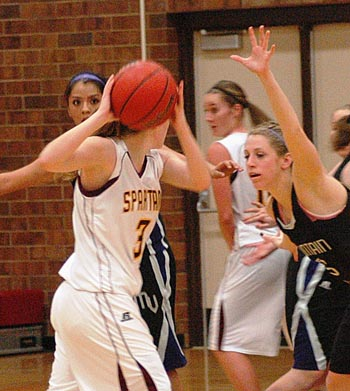 Megan McGinn 9 Lady Spartans Drop Home Opener to Mountain View