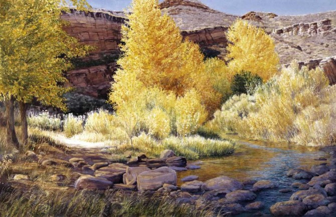 RED MOUNTAIN AUTUMN 670x433 Barbara Moore, Larimer County Visual Artist of the Year