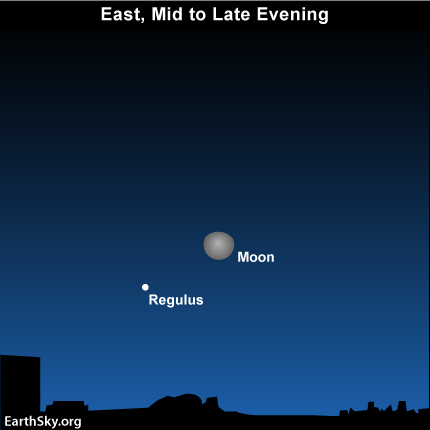 dec242 Sky Tonight— December 24, Moon approaching Regulus