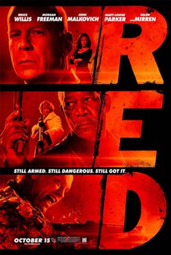 red movie poster 250 Movie Review: RED