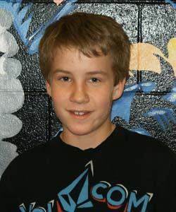Colton Poore  Turner Middle School, December Students of the Month