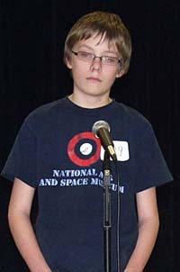 Ken Kubik Turner Takes Two Trophies at District Spelling Bee
