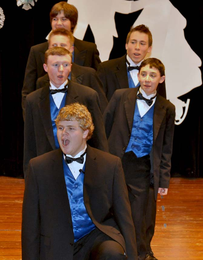 Mens Choir BHS Show Choir Showcase