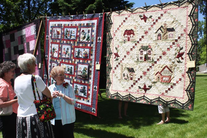 QS Sharon Townsend and quilts 2 Can Berthoud bring back the Quilt Show?