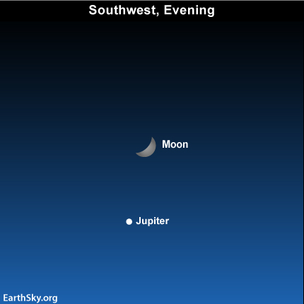 jan10 Sky Tonight—Moon and Jupiter still close
