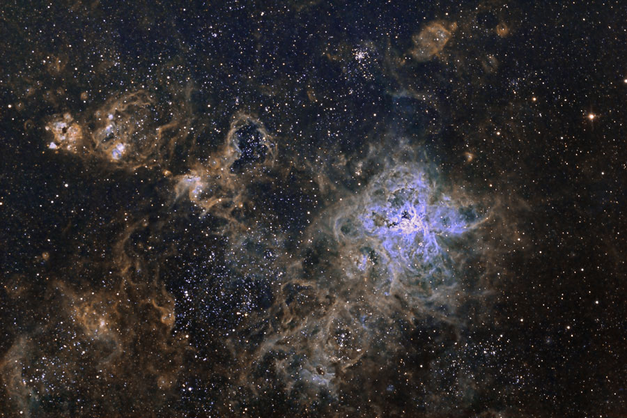 tarantula salemme Astronomy Photo of the Day