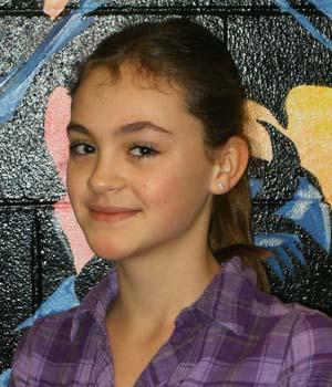Lauren Dietz 350 Turner Middle School, Students of the Month