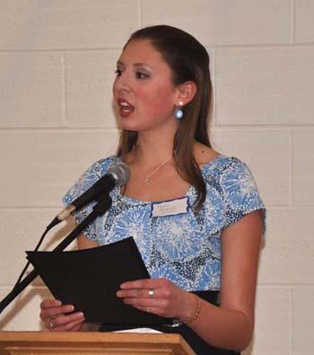 Marie1 Marie Andrade Allison receives DAR Good Citizen award