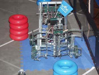 Robot 350 Robot Battle at Berthoud High School
